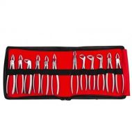 GDC Extraction Forceps Kit Set Of 12 (EFSP12)