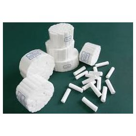 Dental Disposable Cotton Rolls Indian Made