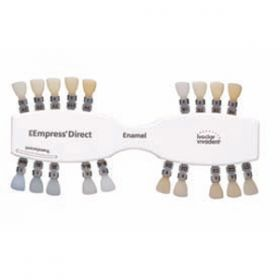 IPS Empress Direct Shade Guide Enamel Shades Single shade guide