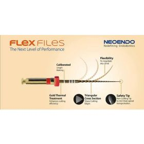 Neoendo Flex Rotary Files Assorted Pack
