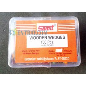 Samit Wooden Wedges Coloured 100 Pieces