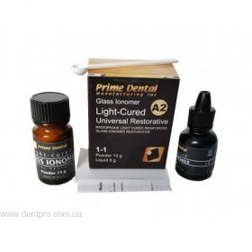 Prime dent Light Cure Glass Ionomer Cement USA Made