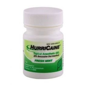 Hurricaine Topical Oral Anesthetic Gel Fresh Mint